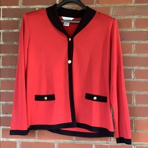 Misook fitted jacket- XL